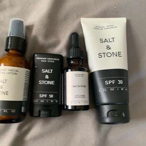 Salt & Stone set